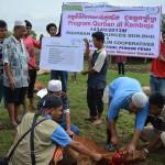 pelaksanaan ibadah qurban di kemboja - equrban.com