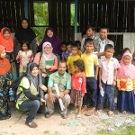 equrban bersama anak-anak kemboja