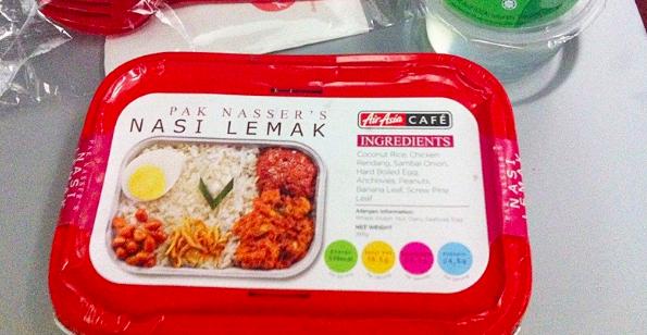 Nasi Lemak Pak Nasser AirAsia