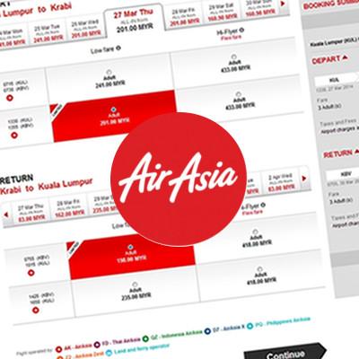 Panduan Membeli Secara Online Tiket Kapal Terbang Airasia