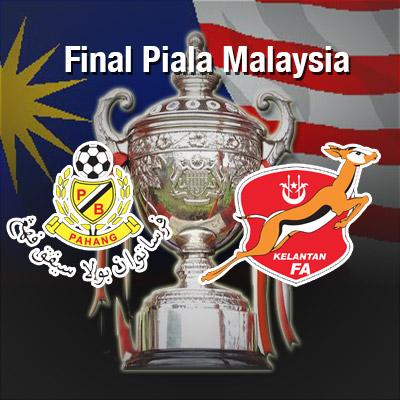 Pertarungan hebat antara pasukan Kelantan vs Pahang