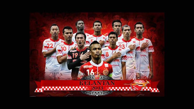 Barisan pemain Kelantan FA 2013