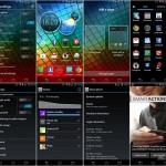 Motorola RAZR i dengan sistem operasi Android 4.0.4 Ice Cream Sandwich