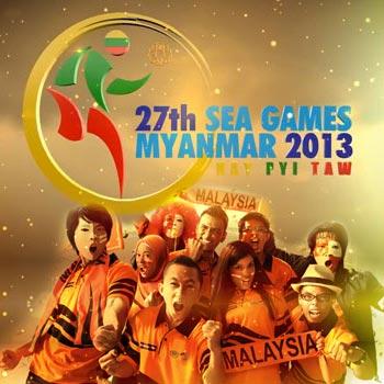 Sukan SEA ke-27 Myanmar 2013 Sokong Team Malaysia