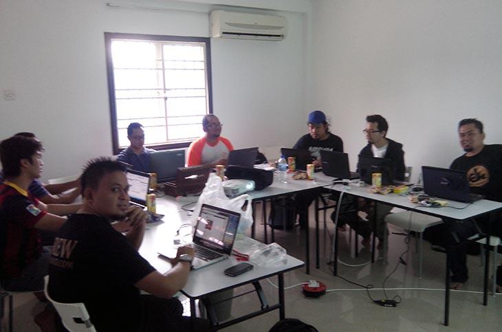 wordpress master class anjuran akademi denaihati
