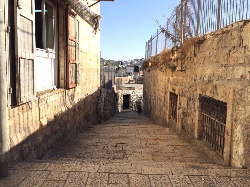 Lorong antara beribu di dalam kota baitulmuqadis