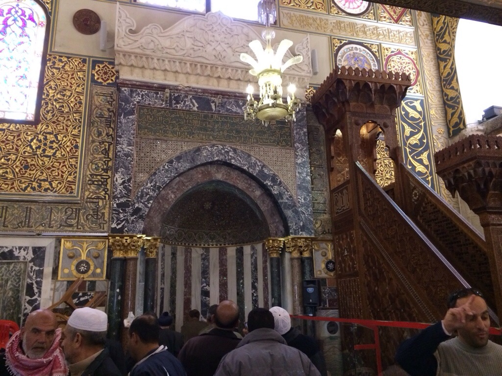 Mimbar Masjid Al Aqsa