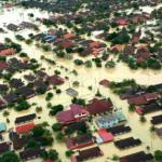 Gambar banjir yang sedang melanda Malaysia