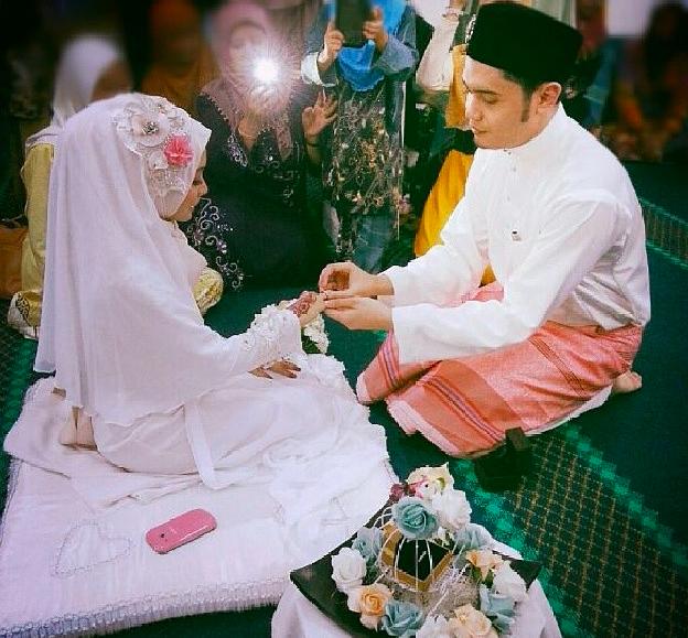 gambar perkahwinan yuyu zulaikha