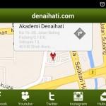 Peta Akademi Denaihati di aplikasi Android Denaihati