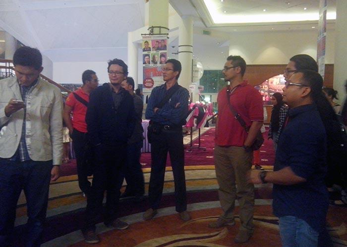 Blogger menonton Lawak Ke Der 3 di Istana Budaya