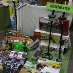 Booth Skate.my di event Blogrrr