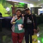 Denaihati bersama Rayyan Haries pemenang Blogrrr Awards 2013