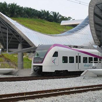 ERL train KLIA Ekspres