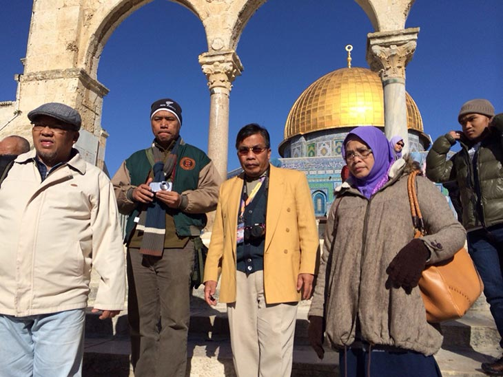 Dome of the Rock di Baitulmuqaddis