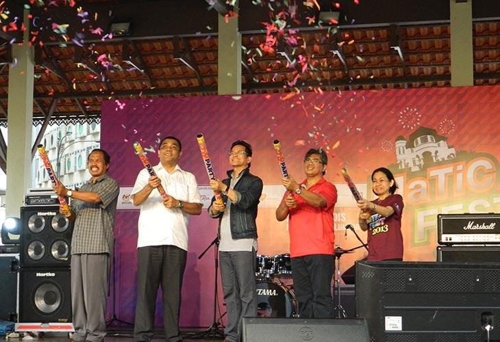 Perasmian MaTiC Fest 2013 di Pusat Pelancongan Malaysia