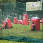 Pertandingan Paintball di program MaTiC Fest 2013