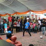 Persembahan Soccer Freestyle di MaTiC Fest 2013