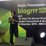 Ikhwan Nazri a.k.a Tekong di Blogrrr Awards
