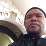 pintu masuk ke makam Nabi Daud a.s