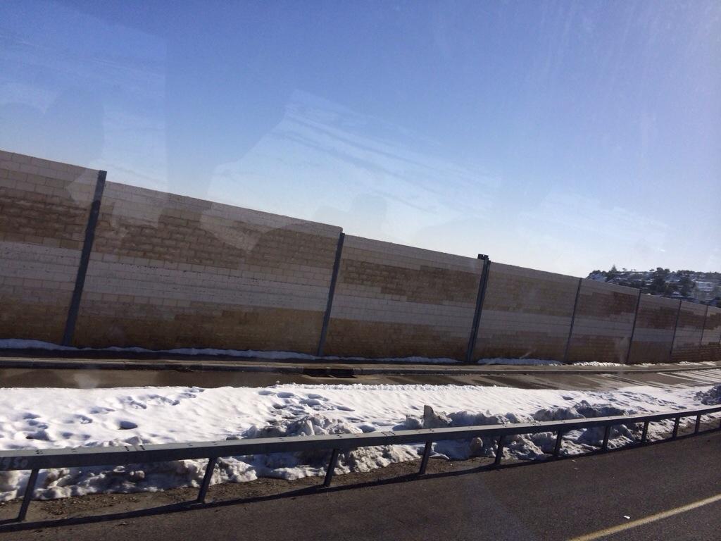 tembok pemisah israel dan palestine
