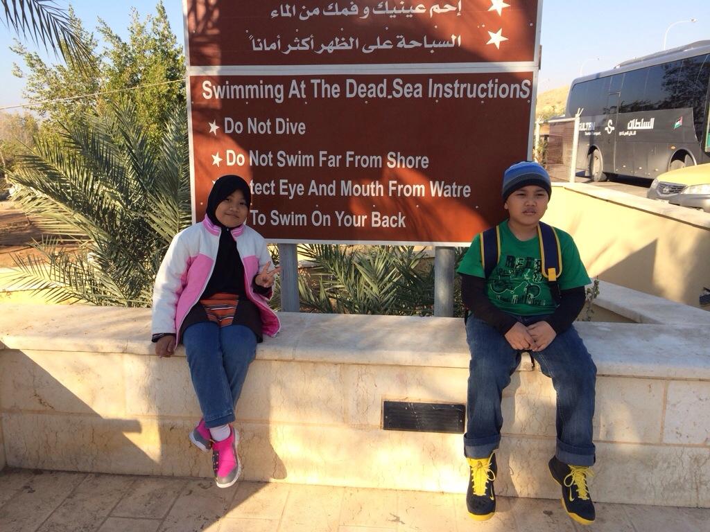 Laut Mati tempat paling rendah dan paling masin di dunia