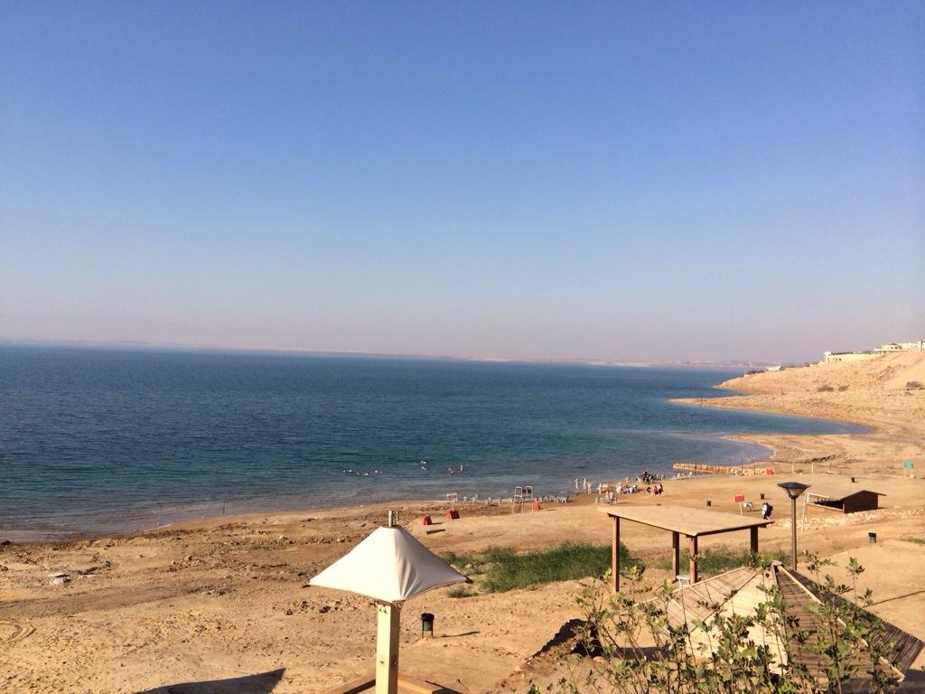 Laut Mati yang semakin kering setiap tahun kerana airnya telah dicuri oleh Israel