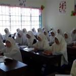 Pelajar di Nurul Iman Chroy Metrey