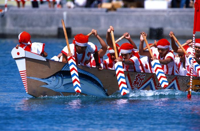 Festival Haaree menjadi salah satu tarikan di Okinawa