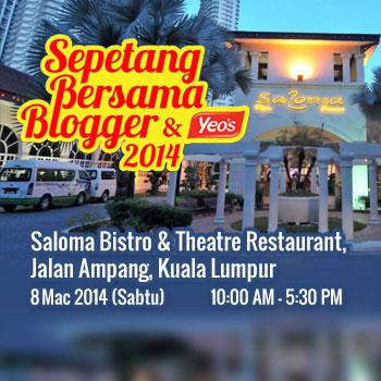 Sepetang Bersama Blogger 2014