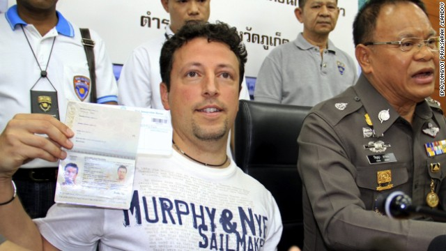 gambar Luigi Maraldi warga Itali yang passport dicuri dan menaiki MH370