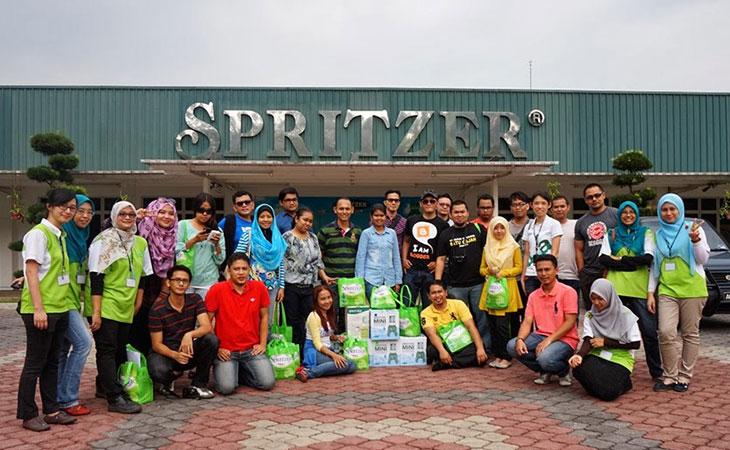 Blogger trip lawat kilang Spritzer di Taiping