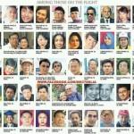 gambar mangsa tragedi MH370