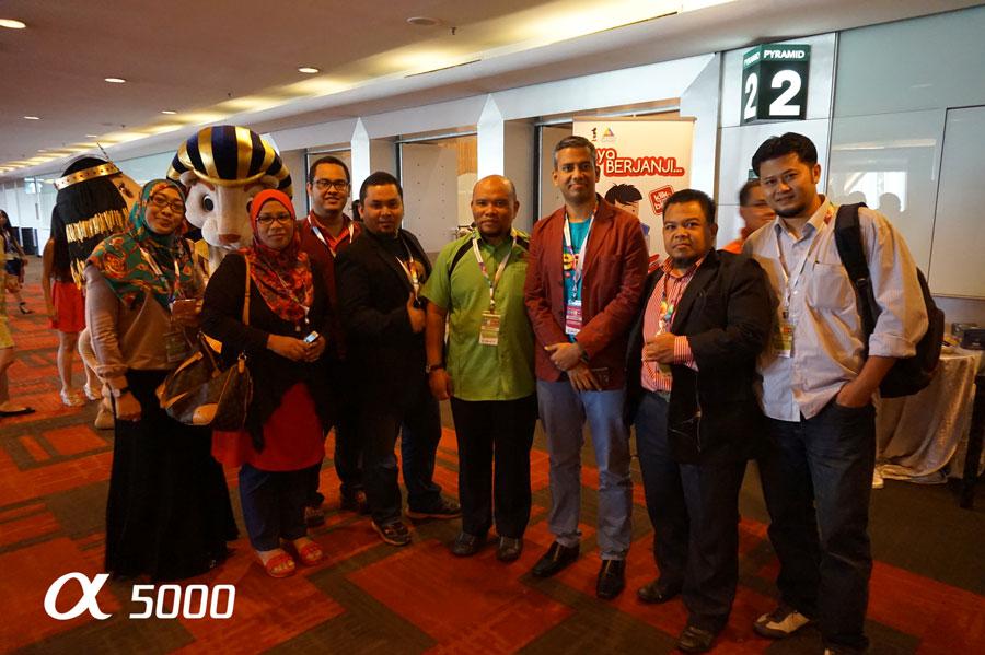 Blogger denaihati di majlis MSMW2014