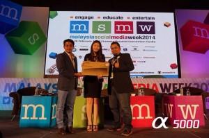Shakiddo dapat laptop Toshiba di MSMW2014