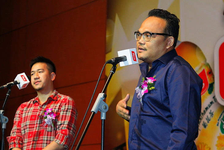 Osman Ali dan Dick Chua Yeo's Funderful Video Contest