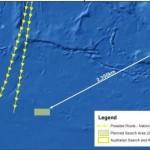 peta kawasan hilang MH370 di Lautan Hindi