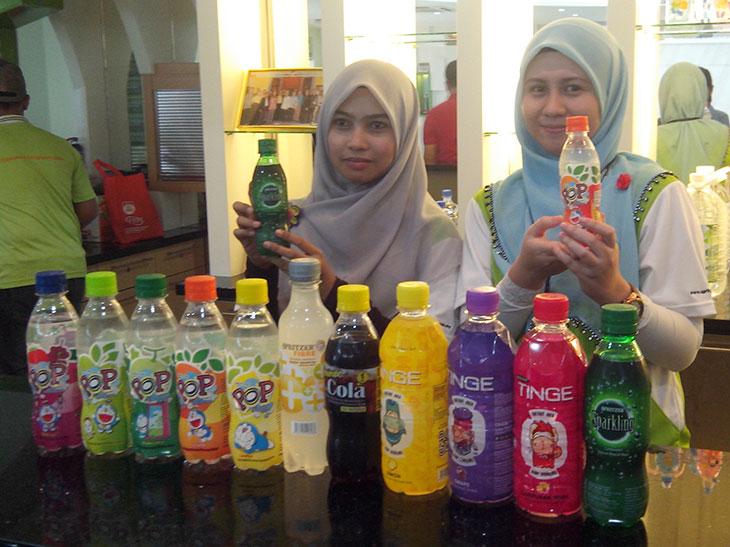 Produk air minuman keluaran Spritzer