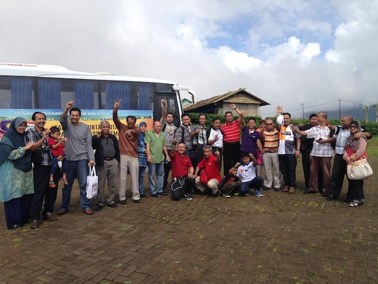 Ahli rombongan kembara DPIM ke Makassar