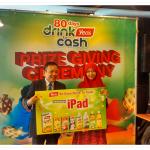kenit cinonet dapai iPad contest Yeo's