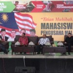 Barisan Panel pengusaha dari malaysia dan indonesia