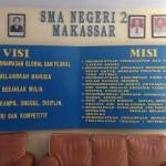 Visi dan Misi SMA Negeri 2 Makassar