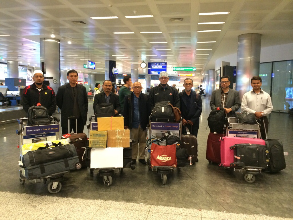 Kembara turki selamat sampai di istanbul atartuk airport
