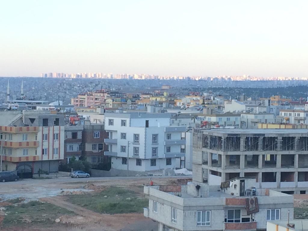 Bandar Gaziantep dari asrama MTS