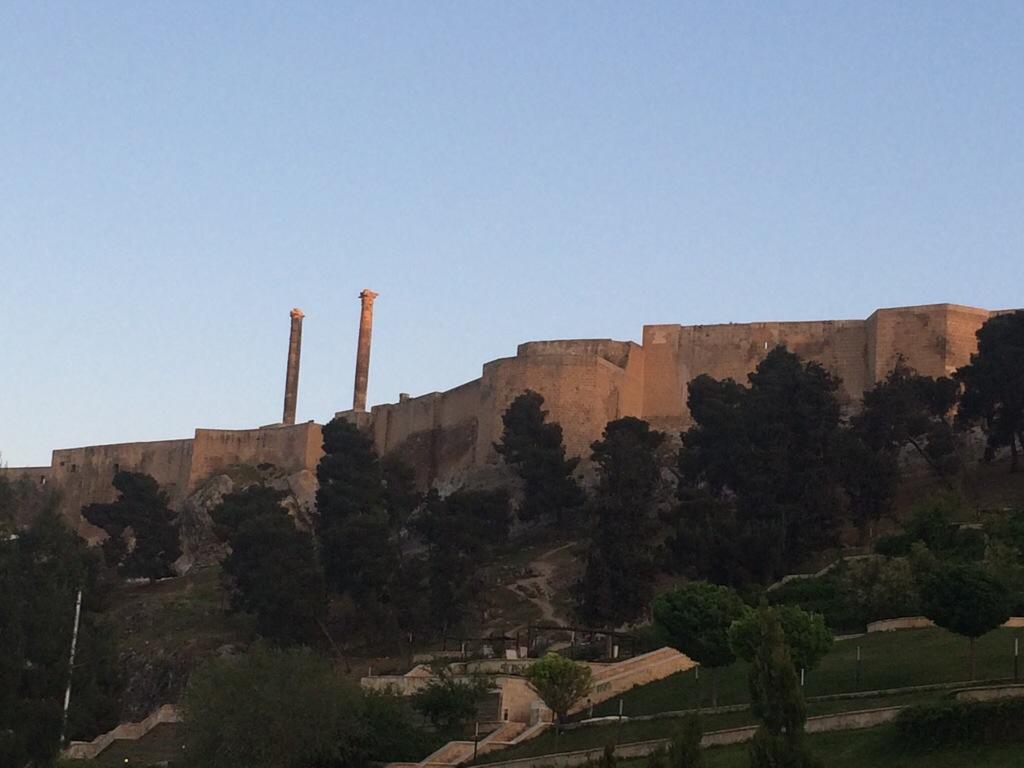 Replika tempat Nabi Ibrahim dihumban ke dalam api