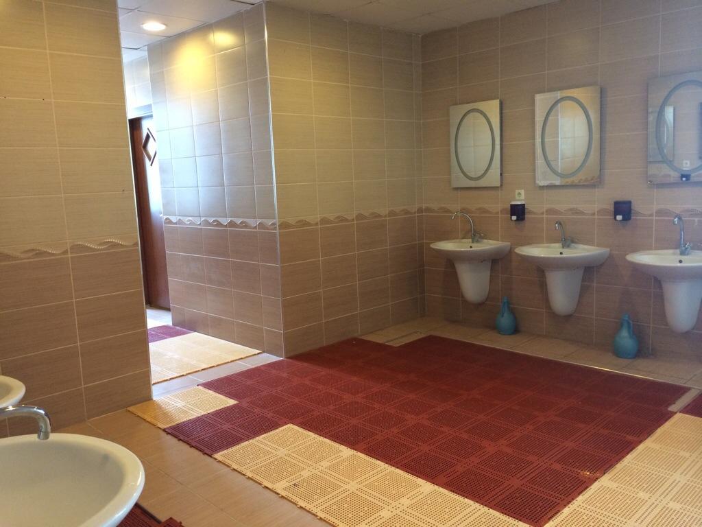 bilik air asrama mts