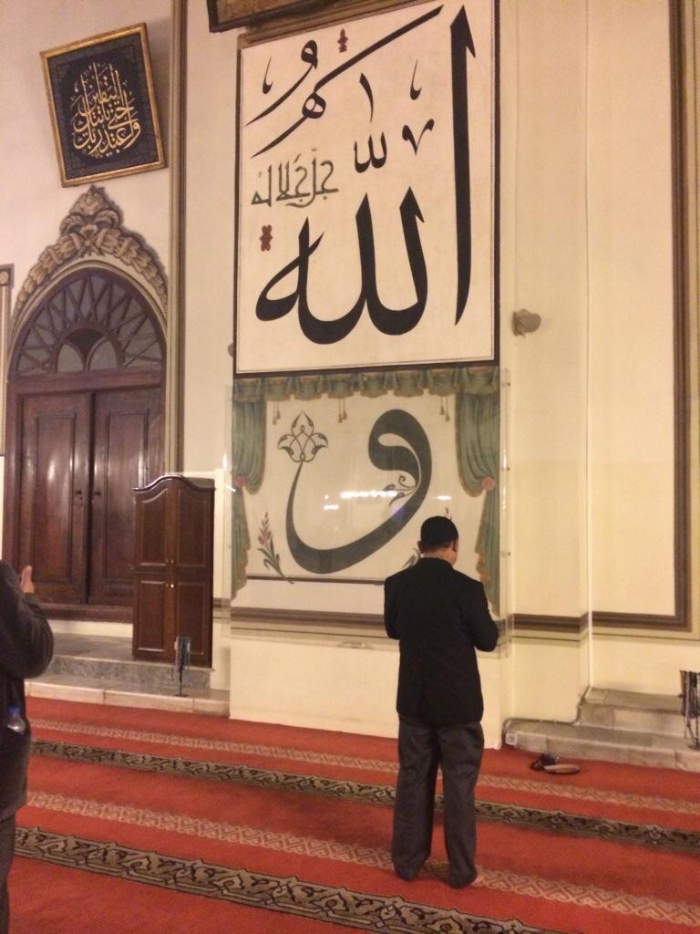bertemu Nabi Khidir di Masjid Ulu Cami Bursa