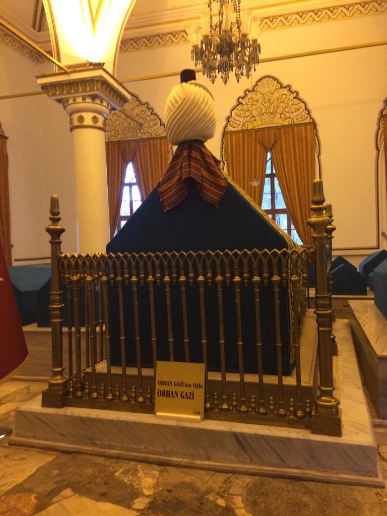 Makam Orhan Gazi anak Osman Gazi