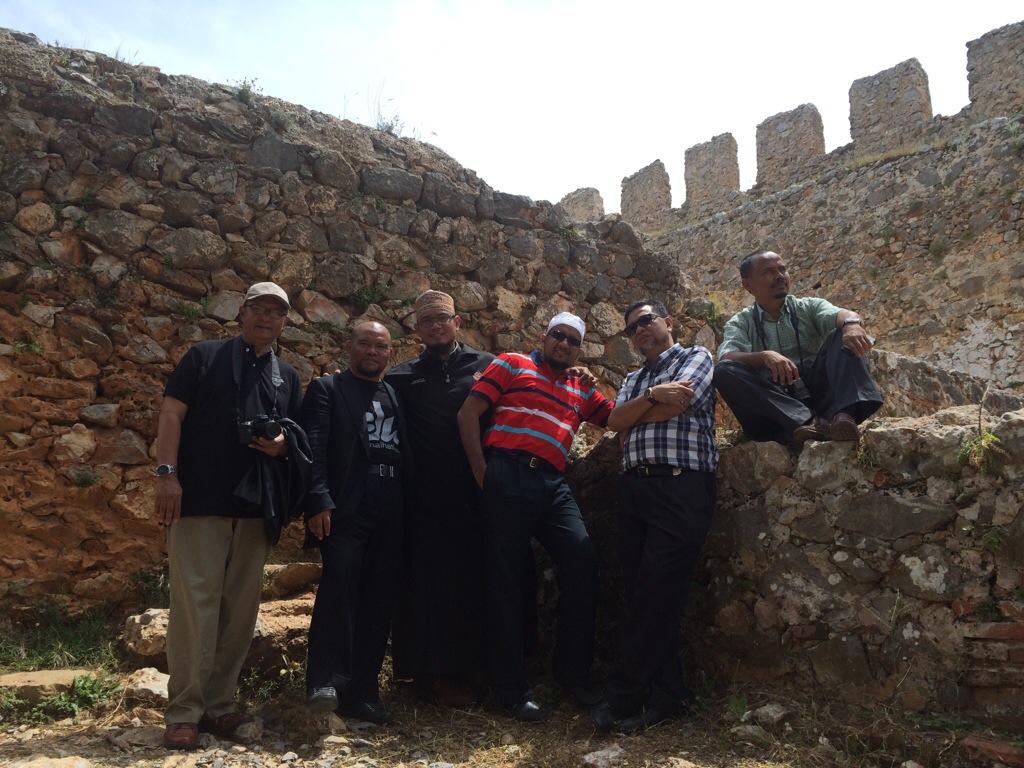 Alanya Castle antara tempat menarik di Alanya Turki