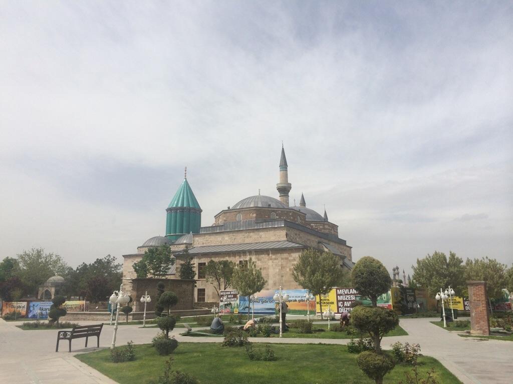 Makam Maulana Jalaluddin Muhammad Rumi